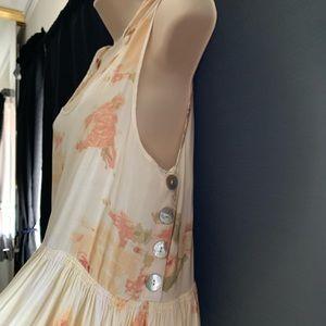 S- Kimchi Blue floral tie up dress